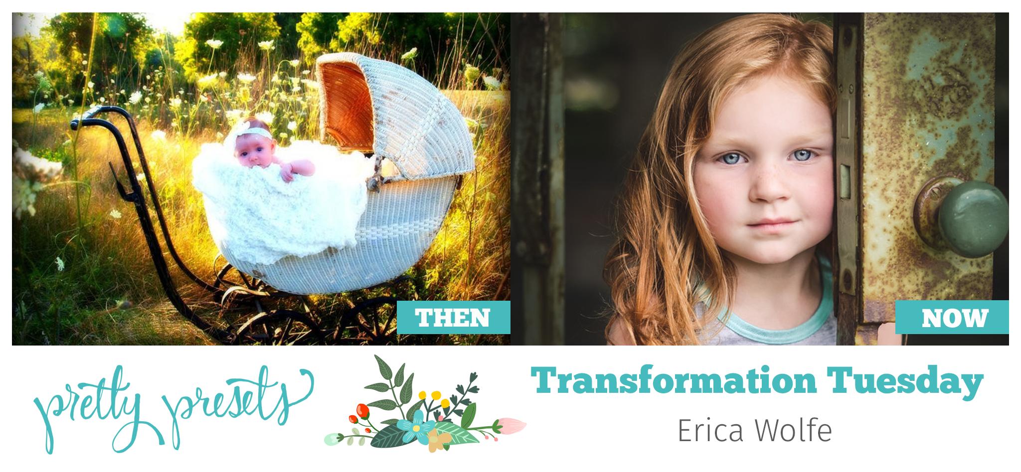 Transformation Tuesday: con Erica Wolfe en Pretty Presets para Li