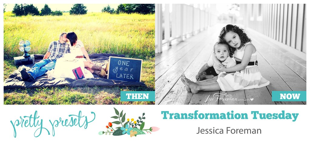 Transformation Tuesday: con Jessica Foreman en Pretty Presets fo