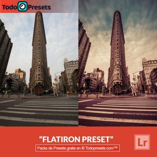 Flatiron Preset de Lightroom gratis